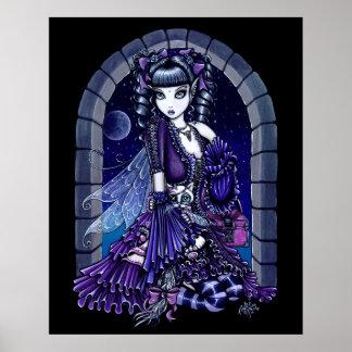 """""""Mia""""  Moon Faery Poster"""