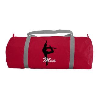 Mia personalized duffle gym bag gym duffel bag