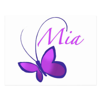 Baby Name Mia Cards | Zazzle