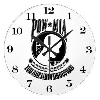MIA POW You Are Not Forgotten Clocks