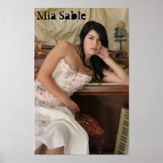 Mia Sable Poster