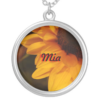 Mia Sunflower Necklace
