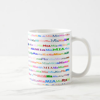 Mia Text Design II Mug II