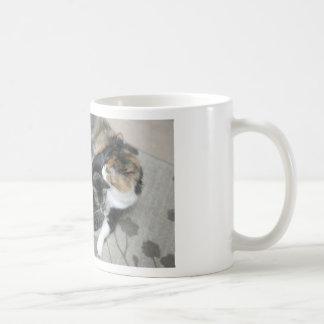 Mia y trasto taza