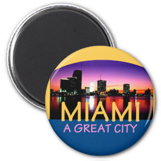 MIAMA Florida A Great City Landscape Magnet