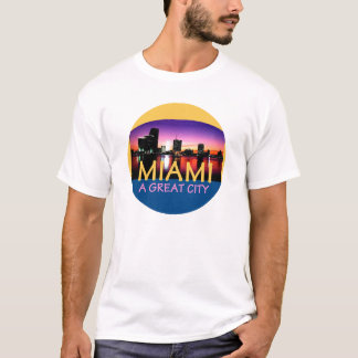 MIAMA Florida A Great City Landscape T-Shirt