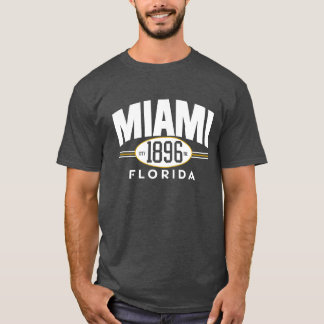 MIAMI 1896 Florida City Incorporated Tee