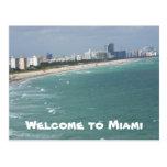 Miami 1 Postcard