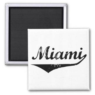 Miami 2 Inch Square Magnet