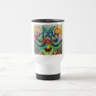 Miami 305 Graffiti Travel Mug