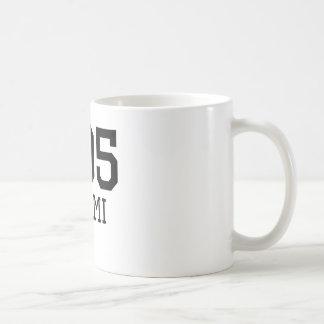 Miami Area Code 305 Coffee Mug