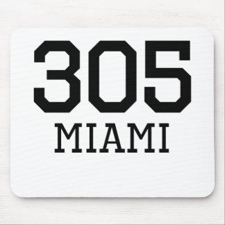 Miami Area Code 305 Mouse Pad