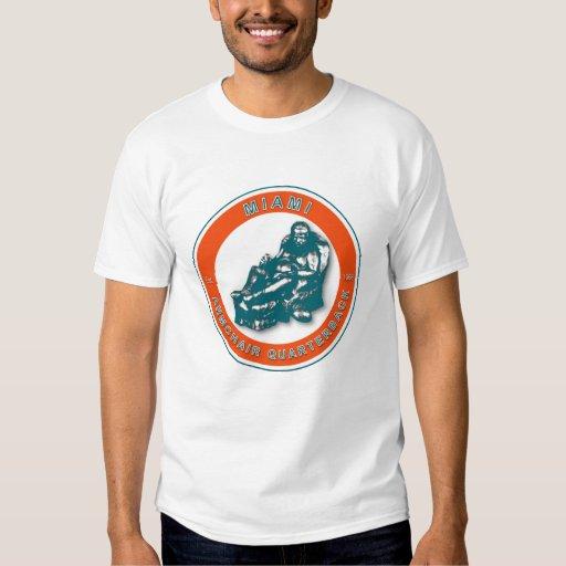 Miami Armchair Quarterback Football Shirt