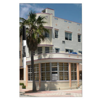 Miami Art Deco Dry-Erase Board