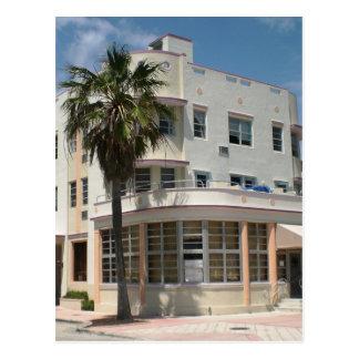 Miami Art Deco Postcard