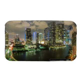 Miami at Night iPhone 3 Case-Mate Case