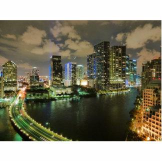 Miami at Night Cutout