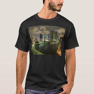 Miami at Night T-Shirt