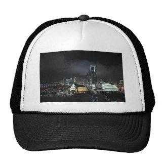 Miami at Night Trucker Hat