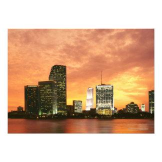 Miami at Sunset Custom Announcement