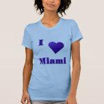 Miami -- Azul de medianoche Camiseta