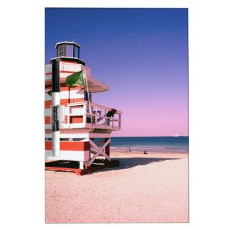 Miami Beach #01 Pizarra Blanca