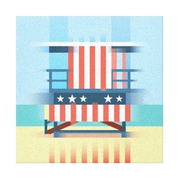 miami Beach | Booth Canvas Print