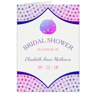Miami Beach Bridal Shower Invitation