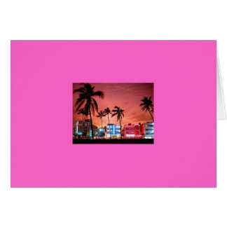 MIAMI BEACH CARD