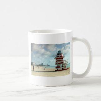 Miami Beach Fl. USAS Art Deco lifeguard stations Coffee Mug