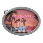 Miami Beach Florida Belt Buckle