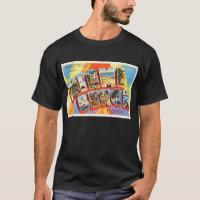 Miami Beach Florida FL Old Vintage Travel Souvenir T-Shirt