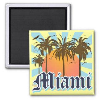Miami Beach Florida FLA Fridge Magnets