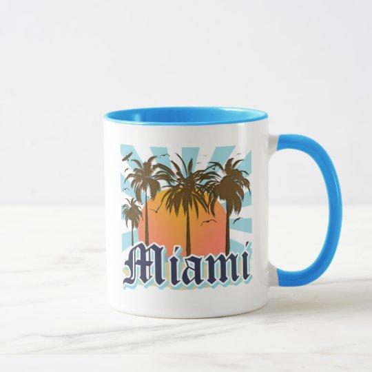 Miami Beach Florida FLA Mug