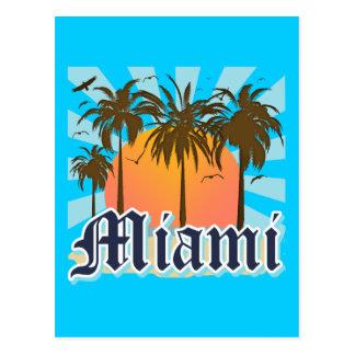 Miami Beach Florida FLA Postcard
