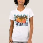Miami Beach Florida FLA T-Shirt