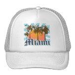 Miami Beach Florida FLA Trucker Hat