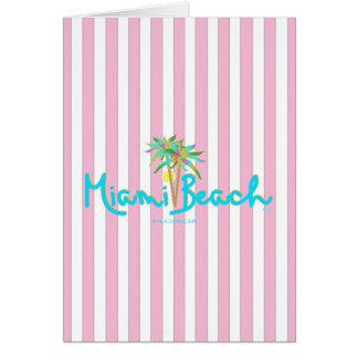 Miami Beach, Florida I Love You Card