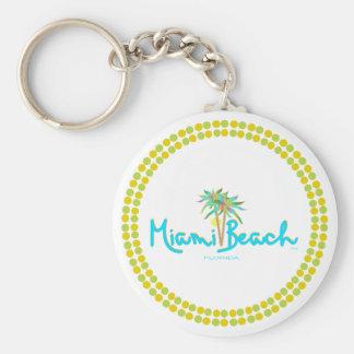 Miami Beach, Florida I Love You Key Chains