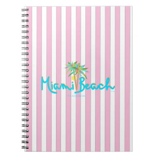 Miami Beach, Florida I Love You Spiral Note Book