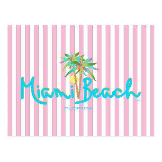 Miami Beach, Florida I Love You Postcard