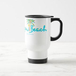 Miami Beach, Florida I Love You Travel Mug