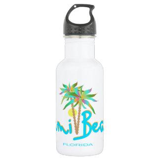 Miami Beach, Florida I Love You Water Bottle