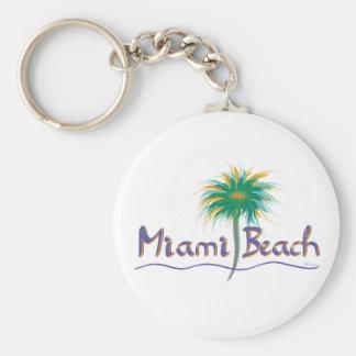 Miami Beach, Florida Keychain