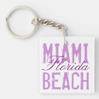 Miami Beach Florida Keychain