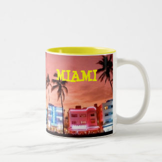 MIAMI BEACH FLORIDA MUG