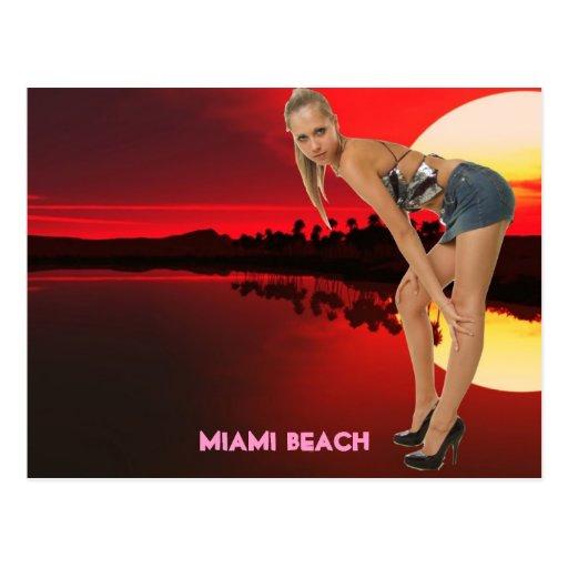 MIAMI BEACH FLORIDA POST CARDS