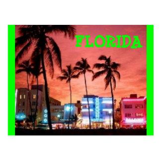 Miami Beach, Florida Post Card