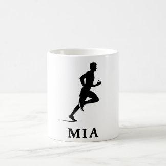 Miami Beach Florida Running MIA Coffee Mug