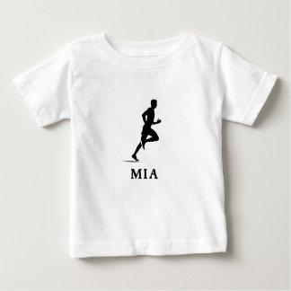 Miami Beach Florida Running MIA T-shirt